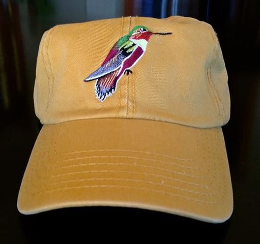 Allen's Hummingbird Cap - Light Yellow