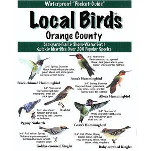 Orange County Birds Pocket-Guide