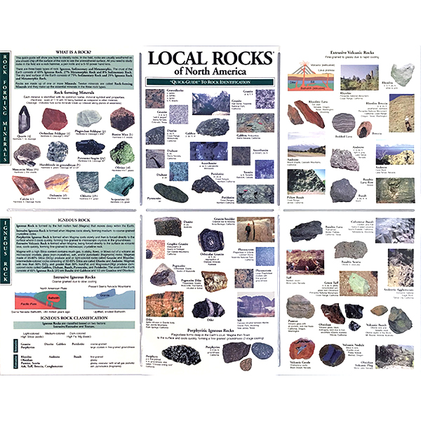 Local Rocks of Northern California Pocket-Guide 1