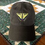 Swallowtail Butterfly Cap - Dark Brown