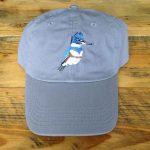 Kingfisher Bird Cap - Grey