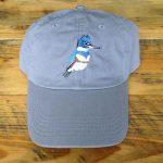Kingfisher Bird Cap - Grey